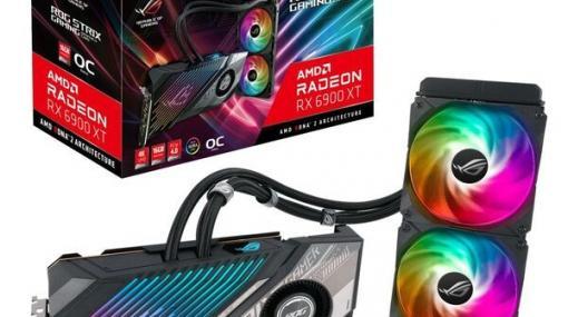 """Radeon RX6900XTを搭載した水冷ビデオカード""""ROG-STRIX-LC-RX6900XT-O16G-GAMING""""発売"""