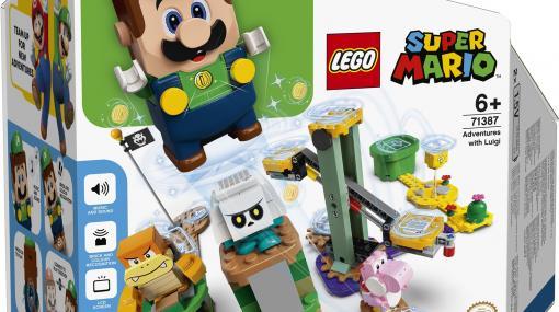 「レゴ スーパーマリオ」に待望の「ルイージ」が登場! スターターセットは本日予約開始
